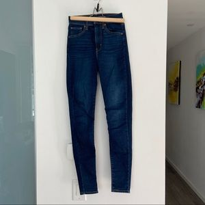 mile high super skinny levi's jeans
